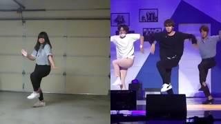 [DANCE TUTORIAL] (mirrored) BTS HOME PARTY - Unit stage '삼줴이 (3J)'