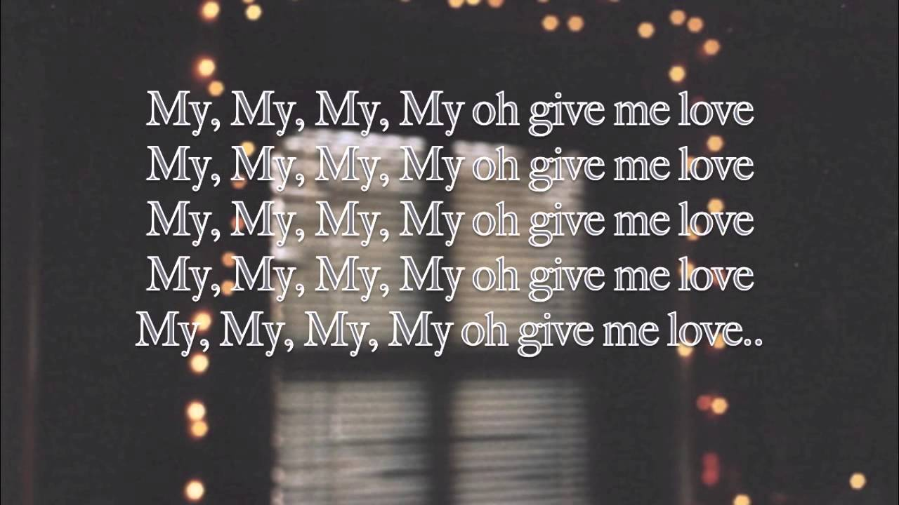 Ed Sheran - Give me Love (Lyrics)