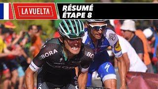 Résumé - Étape 8 - La Vuelta 2017