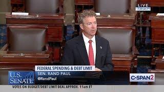 Senator Paul Speaks Out Against Unlimited Debt Ceiling Increase - Aug. 1, 2019