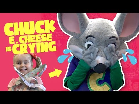 Kids Make Chuck E Cheese Cry! Funny Family Fun & Arcade Games Challenge