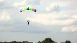 Skydiving AFF Level 1 Landing (The Flopping)