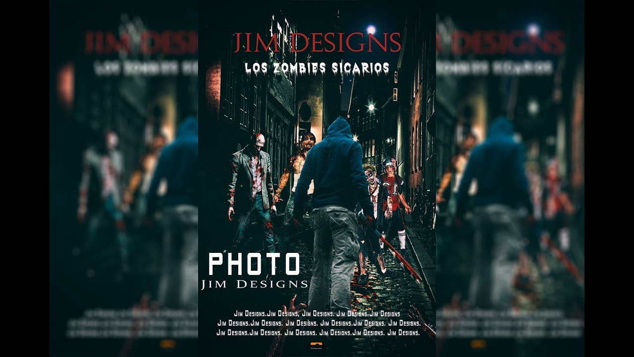 Photoshop Los Zombies Sicarios Movie Postel