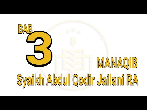 Manaqib bab 3
