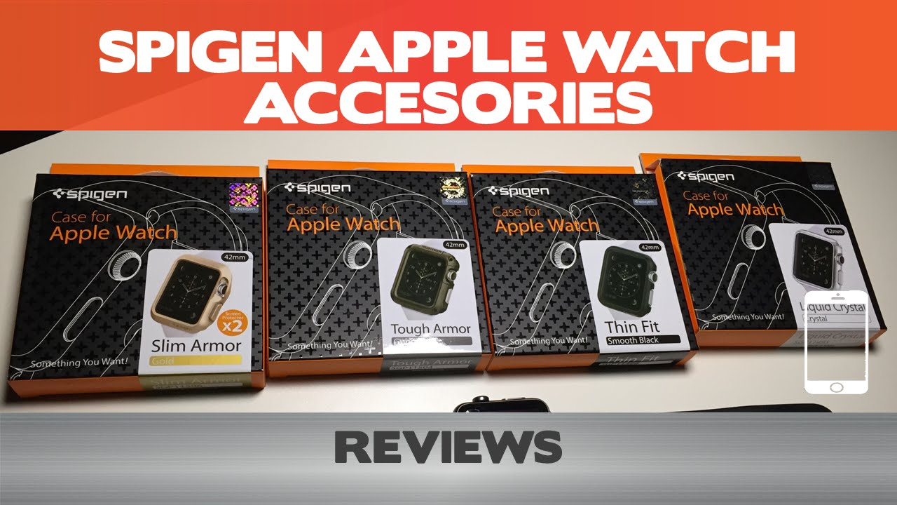 best loved 5091e d8158 Spigen Apple Watch Case Reviews - Thin Fit, Slim/Tough Armor & Liquid  Crystal