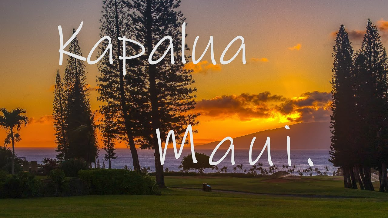Kapalua, Maui - Ultimate Golf Course Luxury Homes! Pineapple Hill