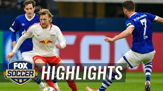 FC Schalke 04 vs. RB Leipzig | 2019 Bundesliga Highlights