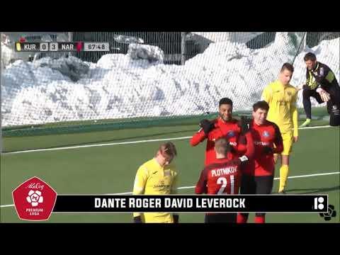 Dante Leverock Scores In Estonia, March 2018