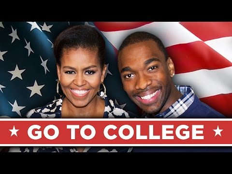 Go To College Music Video (with FIRST LADY MICHELLE OBAMA!)