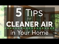 5 Tips for Cleaner Air in Your Home | Consumer Reports