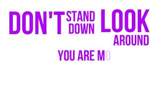 Don't Stand Down Official Lyric Video