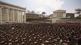 спартанцы Штурмуют Рим! 4560 VS 3300  Преторианцы или Элита Спарты?!!!