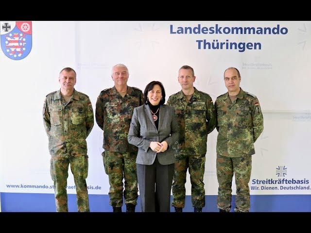 Walsmann vor Ort: die Bundeswehr in Erfurt