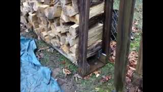 Using 4x4's To Make A Firewood Rack