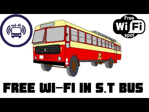 ✓🚌🚌 🌐Free How to use Free  Wifi in S.T Bus in Maharashtra 🚌🚌