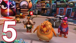 Angry Birds Evolution - Gameplay Walkthrough Part 5 - Chapter 5 (iOS, Android)