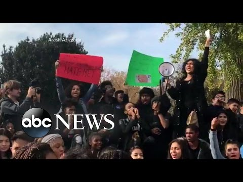 Trump Protests, Hate Crimes Intensify Post Election