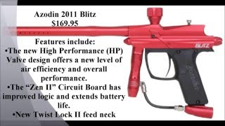 ten best beginner speedball paintball guns