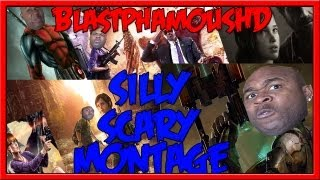 ★★THE CLUSTERF#%& - A SCARY SILLY GAMING MONTAGE w/ BlastphamousHD