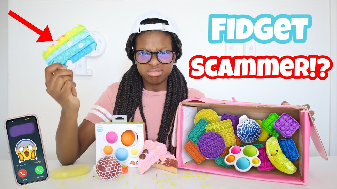 Worst Fidget Package Ever! Becky Got Scammed! She Called The Scammer!