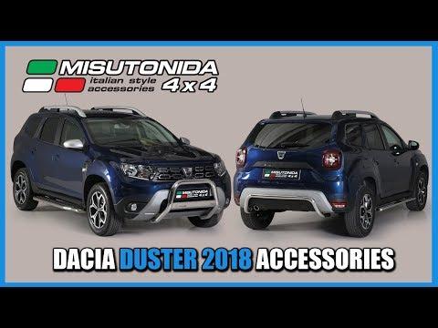 limpido in vista completo nelle specifiche alta moda Misutonida 4x4 Italy: Dacia Duster 2018 accessories - YouTube