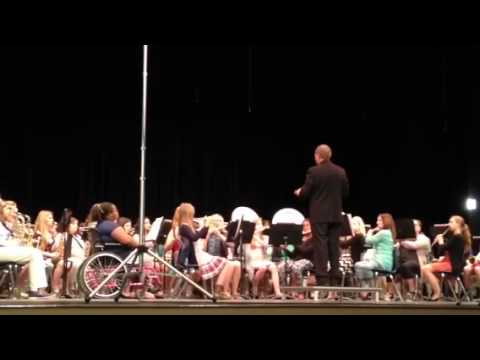 Slocomb High School band