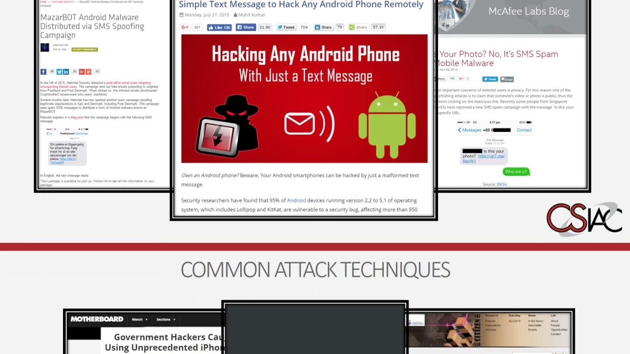 Mobile Security | CSIAC