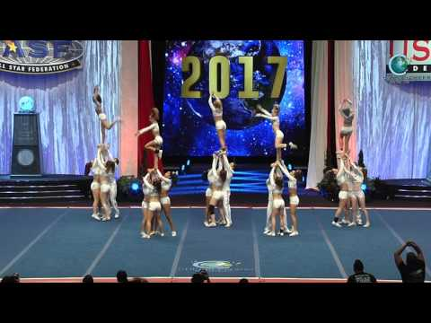 Tribe Cheer - Chiefs [2017 Senior Small Coed Semis]