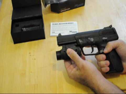 Sig Sauer STL 900L Tactical Light Laser Review