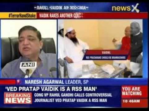 Ved Pratap Vaidik: Kashmir should be separated from India