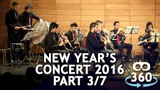 Concert 360º #VirtualReality Classical Music New Year's Concert Part 03 - 07 #360Video #VR