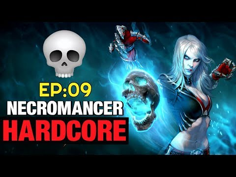 Necromancer Hardcore Let's Play EP:08 Diablo 3 Tragoul Set Seasonal