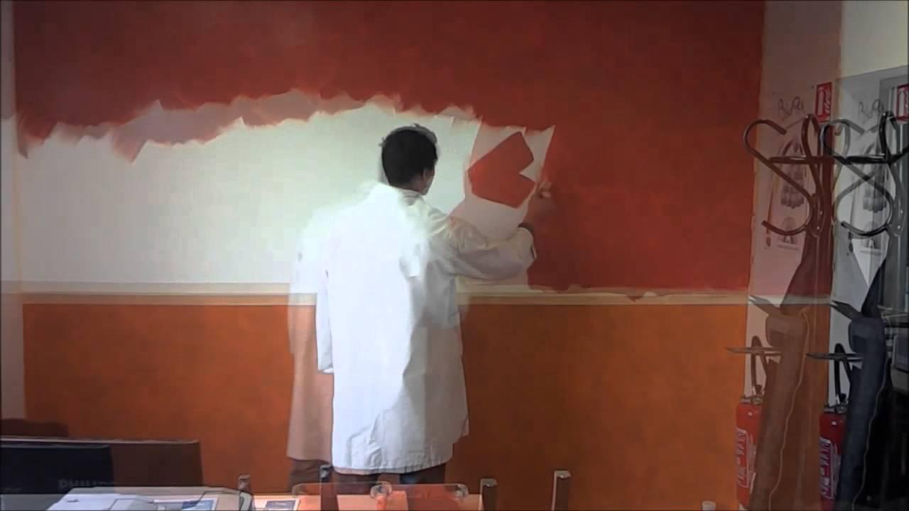 D corer un mur avec les terres et couleurs de france biorox youtube - Association terres et couleurs ...