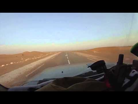 Algeria sahara road