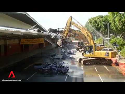 Channel NewsAsia's Dylan Loh tears down walls for the Changi Airport Terminal 4