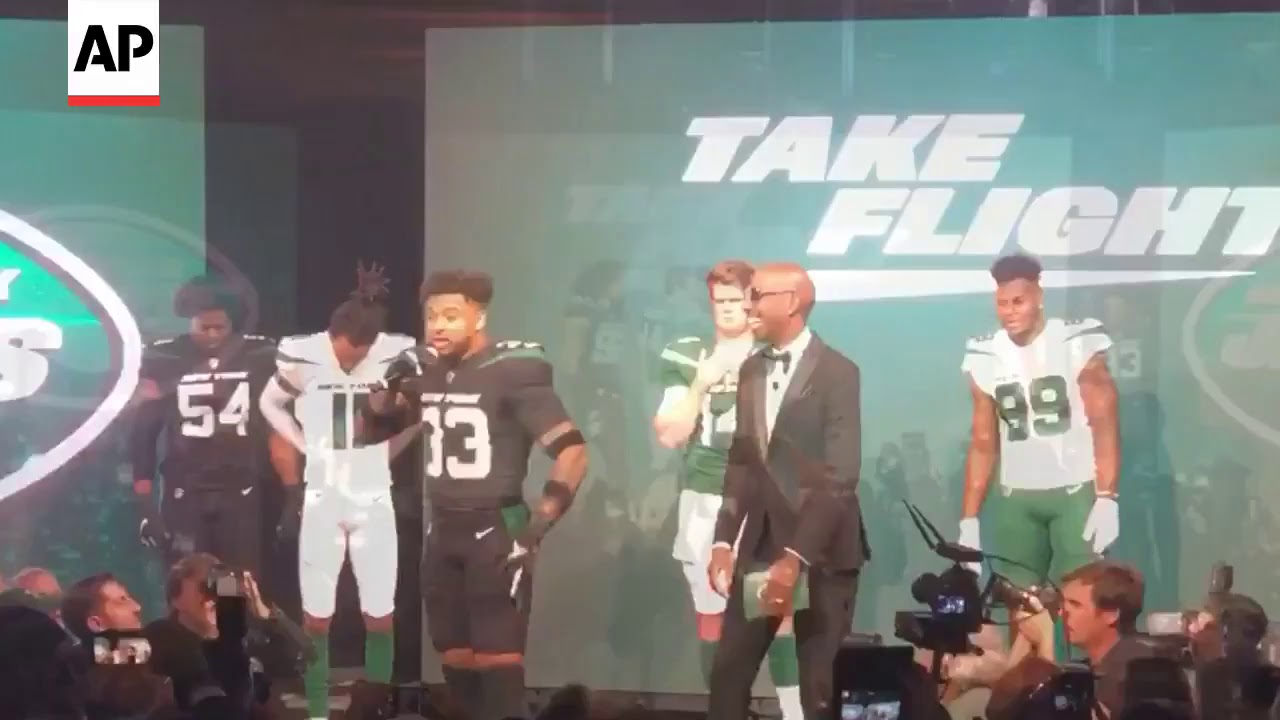 1e000aed603 Jets Unveil New Uniforms, Tweaked Logo - YouTube