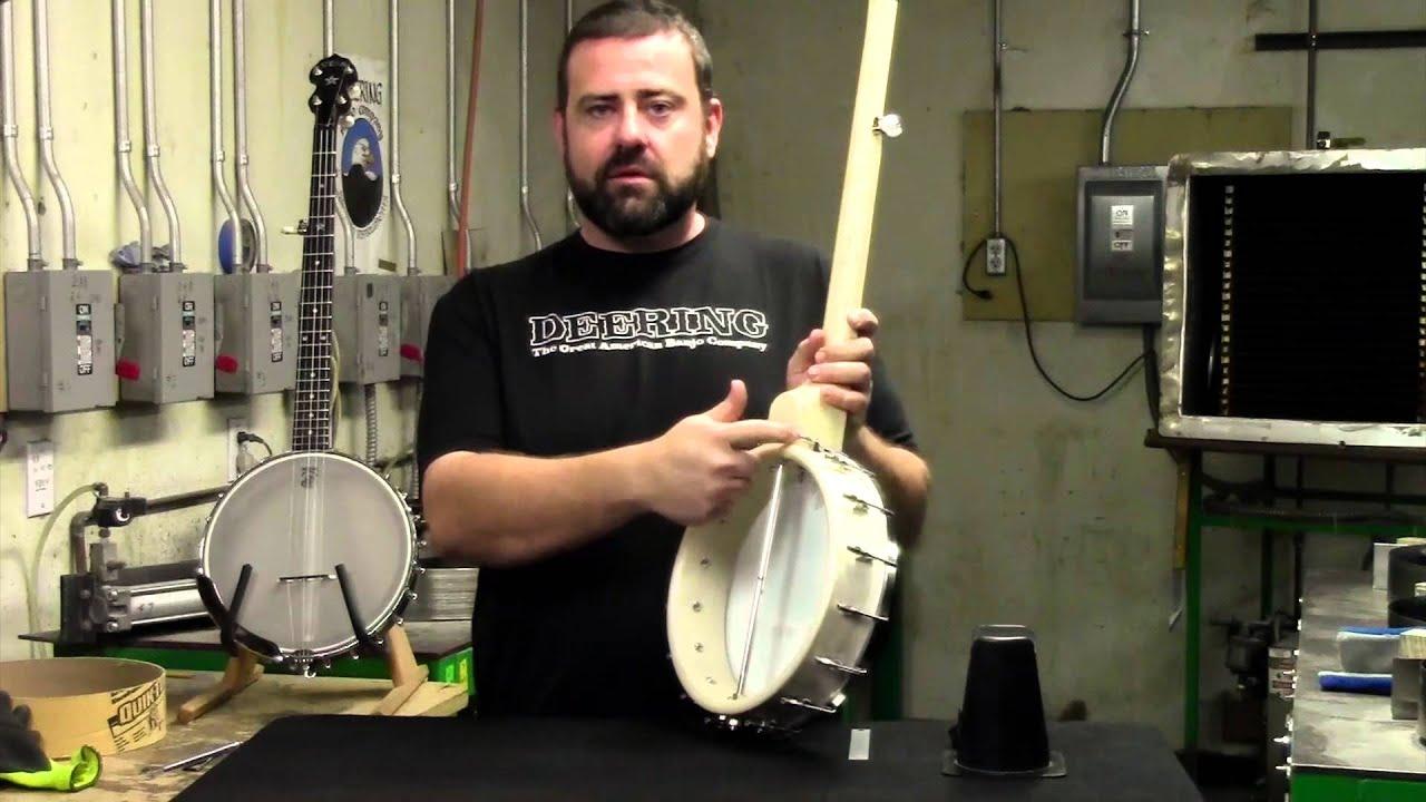 Deering Tech: How To Tighten Your Banjo Head