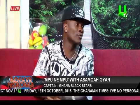 Ghana Captain Asamoah Gyan Reveals Why He Left Sunderland For UAE