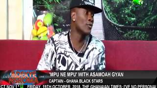 Ghana Captain Asamoah Gyan Reveals Why He  Left Sunderland For UAE