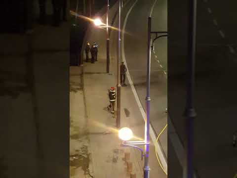 Arden cuatro coches de madrugada en Aranda