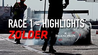 RACE 1 - ZOLDER - Blancpain GT Series 2018