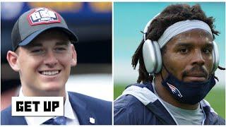 Mac Jones or Cam Newton: Who will be the Patriots' No. 1 QB? | Get Up
