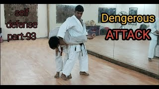 5 to 7 most Dangerous self defense attack||self defence part-93||Jameel khan.