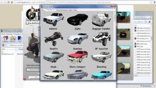 Как заменить текстуры машин в игре GTA San Andreas