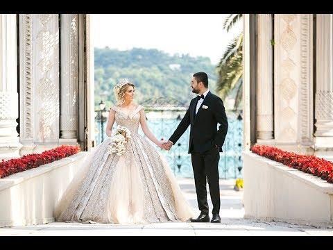 Çırağan Sarayında Nur & Onur çifti ile Çekilen Düğün Klibi