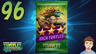 TMNT Legends - 96 - Two Nick Turtles Pack Opening!!! (Nickelodeon Turtles Pack)