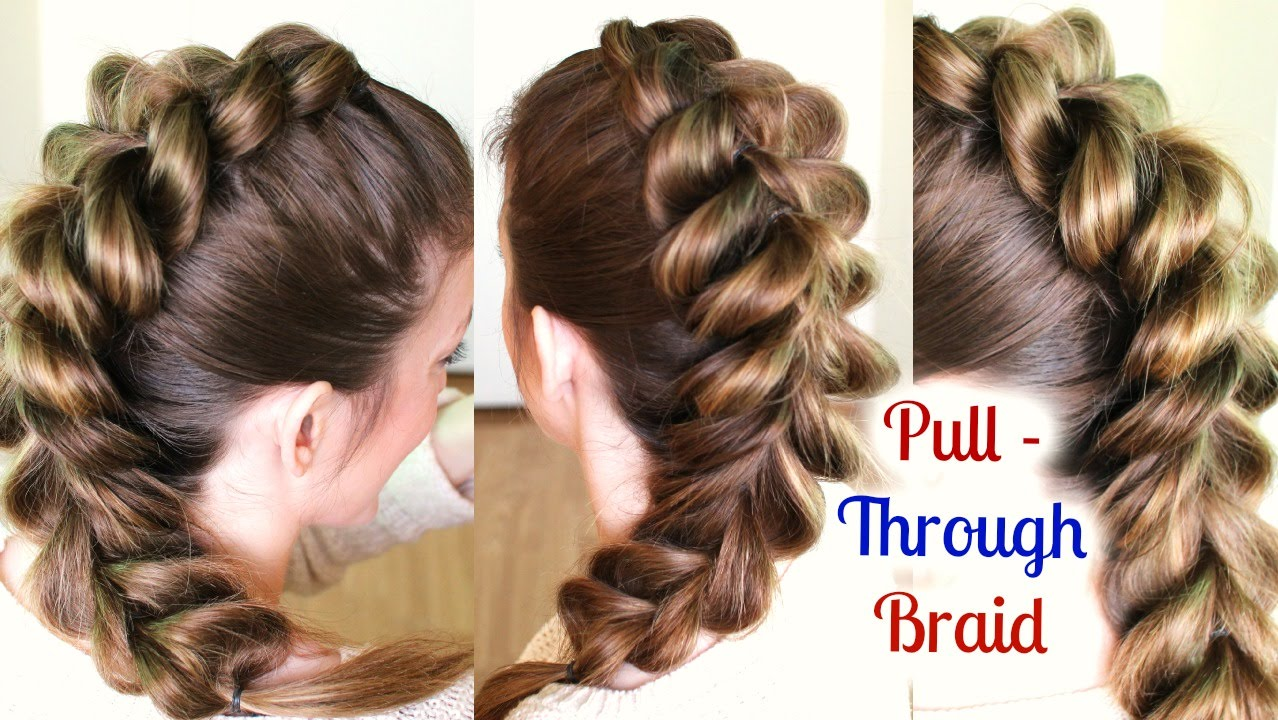 cute and easy ponytail hairstyle