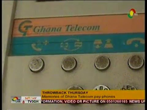 NewDay - Throwback Thursday - Memories of Ghana telecom pay-phones  - 21/4/2016
