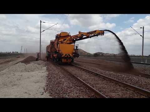 Ballast Cleaning Machine Indian Railway