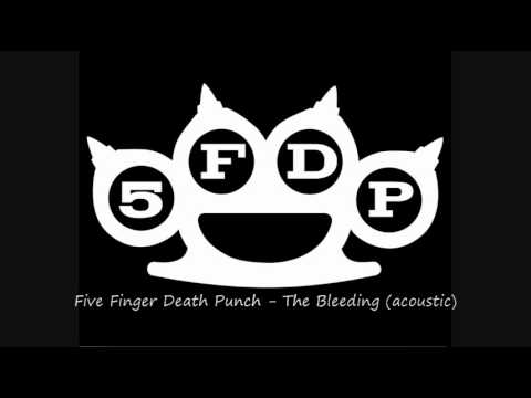 5FDP Five Finger Death Punch - The Bleeding acoustic